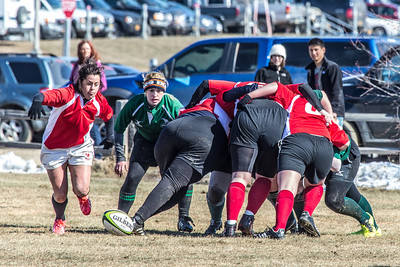 A women's rugby game was part of the attractions during SpringFest 2013.  Filename: LIF-13-3806-90.jpg
