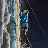 "A climber approaches the top of the tower during the ice climbing competition, offered as part of the 2014 UAF Winter Carnival.  <div class=""ss-paypal-button"">Filename: LIF-14-4084-80.jpg</div><div class=""ss-paypal-button-end"" style=""""></div>"