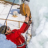 "Engineering major Ryan Kudo enjoys a late season climb up the UAF ice wall on April 4.  <div class=""ss-paypal-button"">Filename: LIF-14-4132-106.jpg</div><div class=""ss-paypal-button-end"" style=""""></div>"