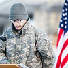 "UAF Cadet Jerad Flynn reads names of fallen service members killed in combat in Iraq and Afghanistan during the Veterans Day Memorial Roll Call Monday, Nov. 12, 2012, at Constitution Park.  <div class=""ss-paypal-button"">Filename: LIF-12-3644-49.jpg</div><div class=""ss-paypal-button-end"" style=""""></div>"