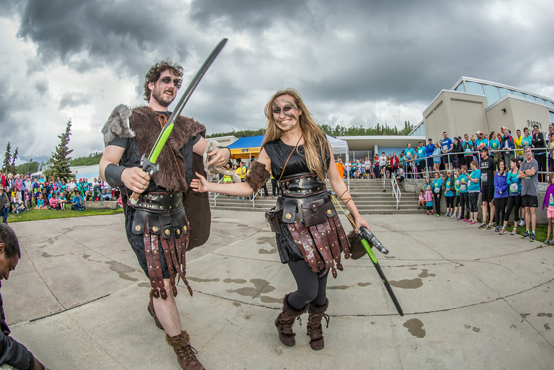 """The costume contest is one of the popular attractions at the annual Midnight Sun Run, which starts on the UAF campus every year on the Saturday nearest the summer solstice.  <div class=""""ss-paypal-button"""">Filename: LIF-14-4220-055.jpg</div><div class=""""ss-paypal-button-end""""></div>"""