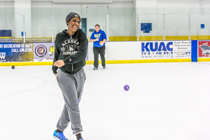"""Photos taken during the ice dodgeball competition at the Patty Ice Arena during the 2014 Nanook Winter Carnival Feb. 22.  <div class=""""ss-paypal-button"""">Filename: LIF-14-4087-44.jpg</div><div class=""""ss-paypal-button-end"""" style=""""""""></div>"""