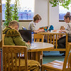 "Students take advantage of the quiet area on the 5th floor of the Rasmuson Library to catch up on some studying on a recent afternoon.  <div class=""ss-paypal-button"">Filename: LIF-14-4045-47.jpg</div><div class=""ss-paypal-button-end"" style=""""></div>"
