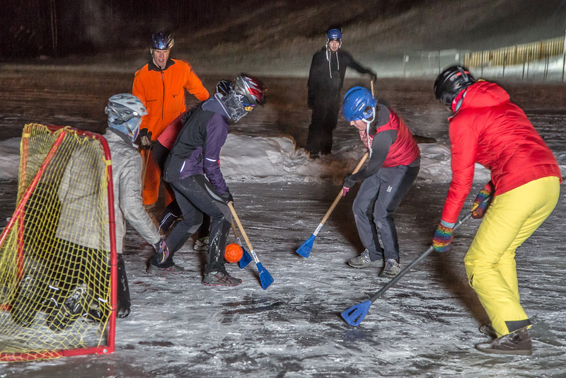 "Outdoor broomball, played on the ice in front of the SRC, is a popular intramural sport at UAF.  <div class=""ss-paypal-button"">Filename: LIF-12-3652-174.jpg</div><div class=""ss-paypal-button-end"" style=""""></div>"