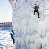"Students take advantage of nice spring weather to try out their climbing skills on the new ice wall near the SRC.  <div class=""ss-paypal-button"">Filename: LIF-12-3321-083.jpg</div><div class=""ss-paypal-button-end"" style=""""></div>"
