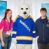 "Prospective students pose with the UAF mascot during the Fall 2015 Inside Out event hosted by UAF's office of admissions and the registrar.  <div class=""ss-paypal-button"">Filename: LIF-14-4353-89.jpg</div><div class=""ss-paypal-button-end""></div>"