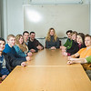 "Members of Students Who Enjoy Economic Thinking and their advisor, Sherri Wall, pose for a portrait at the Kayak Conference Room at the Rasmuson Library.  <div class=""ss-paypal-button"">Filename: LIF-13-4014-22.jpg</div><div class=""ss-paypal-button-end"" style=""""></div>"