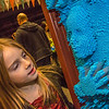 "Eight-year-old Rosie Paris inspects her likeness during the Halloween party at the University of Alaska Museum of the North.  <div class=""ss-paypal-button"">Filename: LIF-13-3988-50.jpg</div><div class=""ss-paypal-button-end"" style=""""></div>"