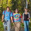 "Demetri Martin-Urban, left, Grace Amundsen, center, and Kaylie Wiltersen stroll through the woods near the west entrance to campus on a nice fall afternoon.  <div class=""ss-paypal-button"">Filename: LIF-12-3544-149.jpg</div><div class=""ss-paypal-button-end"" style=""""></div>"