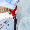 "Engineering major Ryan Kudo enjoys a late season climb up the UAF ice wall on April 4.  <div class=""ss-paypal-button"">Filename: LIF-14-4132-122.jpg</div><div class=""ss-paypal-button-end"" style=""""></div>"