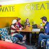 """Students mingle and study in the Nook computer lounge in the Bunnell Building on the Fairbanks campus.  <div class=""""ss-paypal-button"""">Filename: LIF-13-3987-40.jpg</div><div class=""""ss-paypal-button-end"""" style=""""""""></div>"""