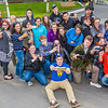 """UAF Orientation Leaders engage in team building exercises before students arrive on campus before the start of the fall 2015 semester.  <div class=""""ss-paypal-button"""">Filename: LIF-15-4635-051.jpg</div><div class=""""ss-paypal-button-end""""></div>"""