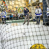 "Students test their hockey skills during the Keep the Cup PreParty rally at the Wood Center.  <div class=""ss-paypal-button"">Filename: LIF-14-4103-32.jpg</div><div class=""ss-paypal-button-end""></div>"