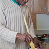 "Peter Ikewun, a petroleum engineeering graduate student from Nigeria, prepares a traditional African soup in his communal Wickersham Hall kitchen.  <div class=""ss-paypal-button"">Filename: LIF-12-3268-146.jpg</div><div class=""ss-paypal-button-end"" style=""""></div>"