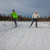 """UAF students Ian Wilkinson and Raphaela Sieber enjoy a morning loop around the campus ski trails.  <div class=""""ss-paypal-button"""">Filename: LIF-12-3348-57.jpg</div><div class=""""ss-paypal-button-end"""" style=""""""""></div>"""