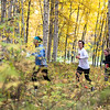 "Runners return to the trails from Ballaine Road at the 50th Annual Equinox Marathon, Saturday morning, September 15, 2012.  <div class=""ss-paypal-button"">Filename: LIF-12-3553-72.jpg</div><div class=""ss-paypal-button-end"" style=""""></div>"