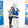 "Future UAF students and family members pose with the Nanook mascot during Inside Out.  <div class=""ss-paypal-button"">Filename: LIF-16-4839-55.jpg</div><div class=""ss-paypal-button-end""></div>"