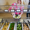"Junior Chelsea Fillingim loads up on vegetables during lunch in the Lola Tilly Commons.  <div class=""ss-paypal-button"">Filename: LIF-11-3220-039.jpg</div><div class=""ss-paypal-button-end"" style=""""></div>"