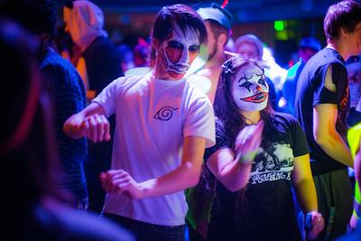 UAF ResLife hosts their annual Halloween dance at the HesRec Center.  Filename: LIF-14-4367-82.jpg