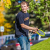 "Engineering major Philip White takes time between classes to play with a frisbee on a beautiful September afternoon on the Fairbanks campus.  <div class=""ss-paypal-button"">Filename: LIF-13-3934-66.jpg</div><div class=""ss-paypal-button-end"" style=""""></div>"