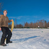 """Bryan Johnson stops sledding for a picture on the SRC Hill on a sunny day in February.  <div class=""""ss-paypal-button"""">Filename: LIF-12-3289-75.jpg</div><div class=""""ss-paypal-button-end"""" style=""""""""></div>"""