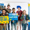 "Future UAF students and family members pose during Inside Out.  <div class=""ss-paypal-button"">Filename: LIF-16-4839-30.jpg</div><div class=""ss-paypal-button-end""></div>"