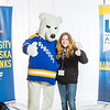 "Future UAF students and family members pose with the Nanook mascot during Inside Out.  <div class=""ss-paypal-button"">Filename: LIF-16-4839-72.jpg</div><div class=""ss-paypal-button-end""></div>"
