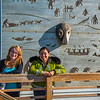 """Students Alyssa Wols, left, and Marjorie Tahbone walk between buildings at UAF's Northwest Campus in Nome.  <div class=""""ss-paypal-button"""">Filename: LIF-16-4865-252.jpg</div><div class=""""ss-paypal-button-end""""></div>"""