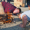 "Students Joe Hunner and Ethan Stephens team up for the fire building competition at the 2011 Farthest North Forest Sports Festival hosted by the UAF School of Natural Resources & Agricultural Sciences.  <div class=""ss-paypal-button"">Filename: LIF-11-3185-215.jpg</div><div class=""ss-paypal-button-end"" style=""""></div>"