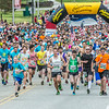 "Runners hit the road at the start of the annual Midnight Sun Run, which starts on the UAF campus every year on the Saturday nearest the summer solstice.  <div class=""ss-paypal-button"">Filename: LIF-14-4220-144.jpg</div><div class=""ss-paypal-button-end""></div>"
