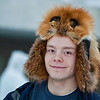 "On cold days, Junior Gavin Meggert wears this fur hat made from a fox his dad trapped.  <div class=""ss-paypal-button"">Filename: LIF-12-3259-17.jpg</div><div class=""ss-paypal-button-end"" style=""""></div>"