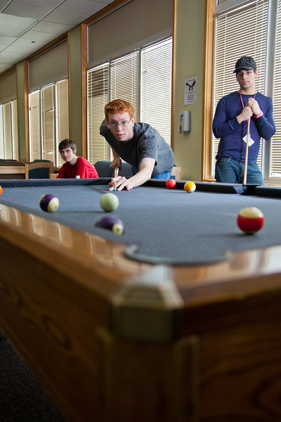 "Freshman computer science major Andrew Layton enjoys some free time with friends in the Skarland Hall lounge.  <div class=""ss-paypal-button"">Filename: LIF-12-3322-025.jpg</div><div class=""ss-paypal-button-end"" style=""""></div>"