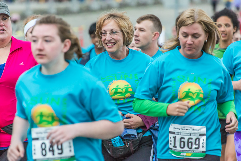 """Runners hit the road at the start of the annual Midnight Sun Run, which starts on the UAF campus every year on the Saturday nearest the summer solstice.  <div class=""""ss-paypal-button"""">Filename: LIF-14-4220-177.jpg</div><div class=""""ss-paypal-button-end""""></div>"""