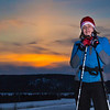 """Freshman Michelle Klaben enjoys a trek on the UAF trails on a February afternoon.  <div class=""""ss-paypal-button"""">Filename: LIF-12-3307-06.jpg</div><div class=""""ss-paypal-button-end"""" style=""""""""></div>"""