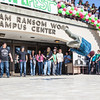 """Dancers help kick off the annual SpringFest celebration in front of the Wood Center.  <div class=""""ss-paypal-button"""">Filename: LIF-12-3373-102.jpg</div><div class=""""ss-paypal-button-end"""" style=""""""""></div>"""