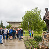 "UAF College of Engineering and Mines Recruitment Coordinator Joe Alloway leads a tour during the 2018 Summer Inside Out campus preview day on the Fairbanks campus.  <div class=""ss-paypal-button"">Filename: LIF-18-5826-164.jpg</div><div class=""ss-paypal-button-end""></div>"
