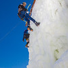 "Students take advantage of nice spring weather to try out their climbing skills on the new ice wall near the SRC.  <div class=""ss-paypal-button"">Filename: LIF-12-3321-022.jpg</div><div class=""ss-paypal-button-end"" style=""""></div>"