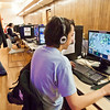 "Computer gaming is one of the big attractions during the annual PopCon weekend event in UAF's Wood Center.  <div class=""ss-paypal-button"">Filename: LIF-11-3218-108.jpg</div><div class=""ss-paypal-button-end"" style=""""></div>"