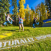 """Kaylie Wiltersen, left, Grace Amundsen, center, and Lily Grbavach are so inspired they leap for joy   near the west entrance to campus on a nice fall afternoon.  <div class=""""ss-paypal-button"""">Filename: LIF-12-3544-044.jpg</div><div class=""""ss-paypal-button-end"""" style=""""""""></div>"""
