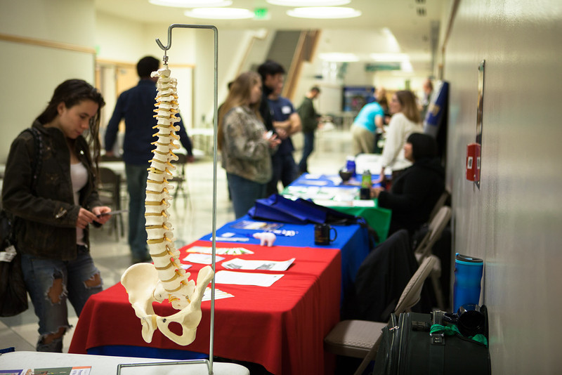 "High school and college students attended the 2012 Alaska Interior Medical Education Summit on careers in the healthcare industry Saturday, Oct. 27, 2012 at the Reichardt Building on campus.  <div class=""ss-paypal-button"">Filename: LIF-12-3617-1.jpg</div><div class=""ss-paypal-button-end"" style=""""></div>"