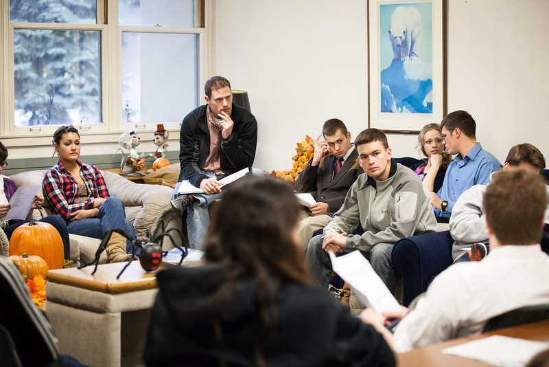 """ASUAF senators, executive members, and guests attend the student government meeting in Oct. 2012 in the Alumni Lounge.  <div class=""""ss-paypal-button"""">Filename: LIF-12-3582-5.jpg</div><div class=""""ss-paypal-button-end"""" style=""""""""></div>"""