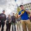 "UAF Orientation Leaders engage in team building exercises before students arrive on campus before the start of the fall 2015 semester.  <div class=""ss-paypal-button"">Filename: LIF-15-4635-027.jpg</div><div class=""ss-paypal-button-end""></div>"