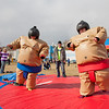 "Ashley Bartolowits (left) and her sister Jennifer (right) compete in sumo suits at the Spring Fest Field Day.  <div class=""ss-paypal-button"">Filename: LIF-12-3381-4.jpg</div><div class=""ss-paypal-button-end"" style=""""></div>"
