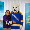 "Prospective students pose with the UAF mascot during the Fall 2015 Inside Out event hosted by UAF's office of admissions and the registrar.  <div class=""ss-paypal-button"">Filename: LIF-14-4353-20.jpg</div><div class=""ss-paypal-button-end""></div>"