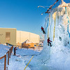 "Organizers make a trial run up the ice wall before opening it up for competition during a 2014 Winter Carnival event.  <div class=""ss-paypal-button"">Filename: LIF-14-4084-4.jpg</div><div class=""ss-paypal-button-end"" style=""""></div>"