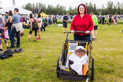 Participants in the 2016 Midnight Sun Run dress up in costume for the popular event near the summer solstice.  Filename: LIF-16-4918-48.jpg