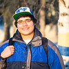 "Jay Santiago pauses for a portrait before heading to his world history class in the Bunnell Building on a cold November afternoon.  <div class=""ss-paypal-button"">Filename: LIF-12-3667-29.jpg</div><div class=""ss-paypal-button-end"" style=""""></div>"