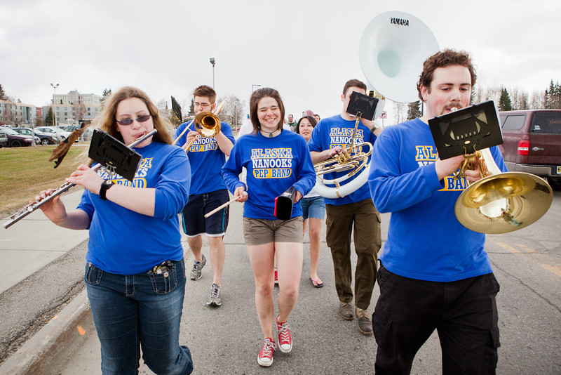 "Pep club members participate in the 2012 Spring Fest Club Karneval Parade.  <div class=""ss-paypal-button"">Filename: LIF-12-3384-28.jpg</div><div class=""ss-paypal-button-end"" style=""""></div>"