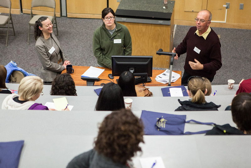 """High school and college students attended the 2012 Alaska Interior Medical Education Summit on careers in the healthcare industry Saturday, Oct. 27, 2012 at the Reichardt Building on campus.  <div class=""""ss-paypal-button"""">Filename: LIF-12-3617-56.jpg</div><div class=""""ss-paypal-button-end"""" style=""""""""></div>"""
