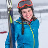 "Outdoor enthusiast Michelle Klaben takes her skis out on the UAF Terrain Park on a snowy afternoon.  <div class=""ss-paypal-button"">Filename: LIF-13-3721-188.jpg</div><div class=""ss-paypal-button-end"" style=""""></div>"